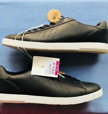 New MENS CLAE BLACK BRADLEY LEATHER Sneakers Court