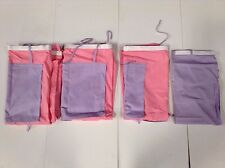 FLEXA PINK AND LAVENDER PLAY CURTAIN SET,  #73262  NIB! GREAT DEAL! FREE SHIP!