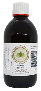 Eyebright Concentrated Decoction 325ml in a glass UV resistant bottle