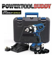 Draper 82983 Storm Cordless Impact Wrench Force 20 V + 10pc Set Chiave Impatto