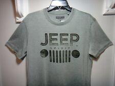 Lucky Brand Men's T-Shirt Esto 1941 Jeep Spirit Color Greenish Gray Size Medium