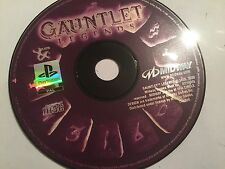 SONY PLAYSTATION 1 PS1 PSone GAME DISC ONLY GAUNTLET LEGENDS By MIDWAY PAL
