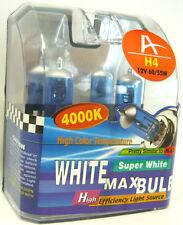 2 Stück Glühlampe 12V H4 60/55W Xenon 4000°Kelvin Autolampe Glühbirne