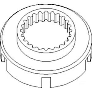 Low-High Range Drum for Syncro Range Fits John Deere R31026 340D 440 440A 440B