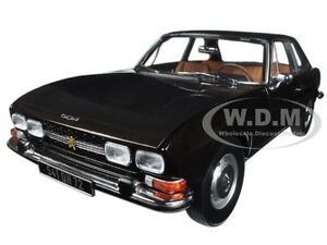 1973 PEUGEOT 504 COUPE BROWN METALLIC 1/18 DIECAST MODEL CAR BY NOREV 184822