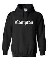 COMPTON Hoodie - Straight Outta West Coast Hip Hop Rap Los Angeles LA California