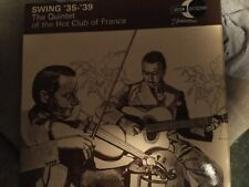 Swing '35-'39 Quintet Of The Hot Club Of France LP M-