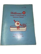 Arcade Williams Pinball - Reference and Troubleshooting Manual