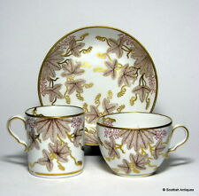 Spode Candlelight Pattern Porcelain Trio c1806
