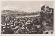Postkarte - Hotel Restaurant Gütsch mit Luzern