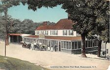 c.1915 Lawrence Inn Boston Post Rd. Mamaroneck NY post card Westchester County