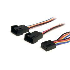 30 cm 4 Pin Fan Power Splitter Cable - F/M - Startech.com fan4split12