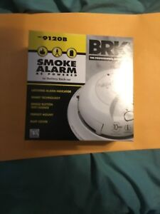 5 First Alert BRK 9120B  AC Powered Smoke Detector Alarm w/Battery Backup(not CO