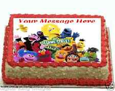 Sesame Street Cake topper edible image icing REAL FONDANT