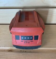 Hilti 18V 3.3 Ah Li-Ion Rechargeable Batteries CPC, Used, 18 Volt 3.3Ah Battery.