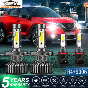 For Nissan UD 1800 2000 2300 2600 3300 LED Headlight Light Bulbs Conversion Kit