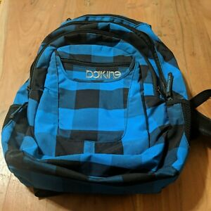 Dakine Backpack, Blue Plaid