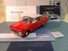 Franklin Mint 1960 Ford Falcon.1:24.Rare Red.Nos.Docs.Undisplayed. Pristine