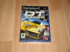 DT RACER CARRERAS DE COCHES DE AXIS ENTERTAINMENT PARA SONY PS2 NUEVO PRECINTADO