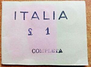Serie Completa ( ITALIA 1 Lire Dal 1901 Al 1907 ) RIPRODUZIONE