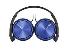 Auriculares Sony MDR-ZX310AP plegable auriculares auriculares estéreo para música-Azul