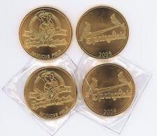 TWO 2005 SPRINGFIELD CARDINALS INAUGURAL COIN**FREE SHIPPING**