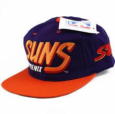 Vintage Phoenix Suns Ajd Snapback Hat Gorra Sombrero Sports Specialties Starter Nuevo