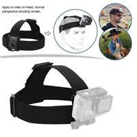 Adjustable Headband Belt Head Strap Mount For GoPro Hero 4 3+ 3 2 SJ4000 Camera