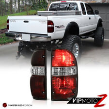 Toyota Tacoma 2001-2004 4X4 Smoke Tinted OE Style Tail Lights Offroad Left Right