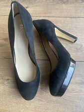 New Hobbs Platform Burlesque 1940s Style Platform Court Shoes Heels 7.5 40.5