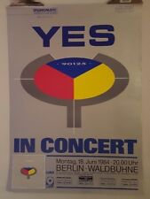 YES 90125 tour  1984  Original Concert poster