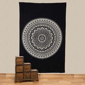 Wall Hanging Bedspread Decor Cloth India Mandala Bedspread Approx. 200 X 135 CM