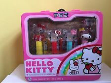 Hello Kitty Pez Dispensers In A Lunch Box