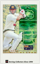 1998/99 Select Cricket Hobby Gold Parallel Trading Card No18 Michael Slater