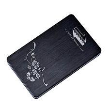 2.5 inch External HDD SSD Hard Disk Drive Enclosure Case Caddy SATA USB 3.0 2TB
