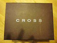 Mens Cross Watch, Cufflinks and Card Holder Gift Set Chrome/Silver RRP £200+