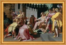 Joseph and his Brothers Abraham Bloemaert crois religion Adel trône B a3 00188