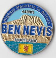 "Ben Nevis Scotland Highest In Britian Coin 2"" DIA BX1"