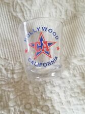 NEW shot glass from Hollywood California CA Star travel souvenir WOW