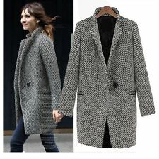 Wool Blend Unbranded Woman's Trench Coats and Macs
