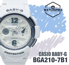 Casio Baby-G Sporty BGA-210 Series Analog Digital Watch BGA210-7B1