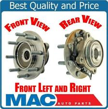 (2) Front Wheel Bearing and Hub Assembly, 8 Stud 4x4 Fits 01-06 Silverado 3500