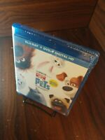 Secret Life of Pets (Blu-ray+DVD+Digital) NEW (Sealed)-Free Shipping w/Tracking