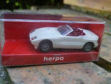HERPA HO 1:87 BMW Z1 blanche, ref 2074, neuf en boite