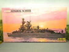 1/400 Kit Heller No. 81045 GERMAN HEAVY CRUISER ADMIRAL SCHEER New Sealed Box