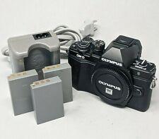 Olympus OM-D E-M10 Mark II Mirrorless 16.1MP MFT Digital Camera Body