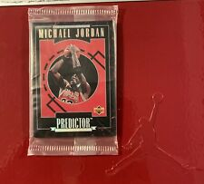 Michael Jordan—1995-96 Upper Deck Predictor Set(10 cards).  Unopened!