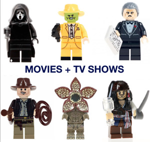 Movie TV CUSTOM Lego Mini Figures horror Jack sparrow demogogon game of thrones