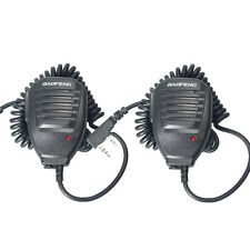 2PCS Baofeng Microphone PTT Speaker Mic For Kenwood BAOFENG UV-5R 5R+ TYT WOUXUN