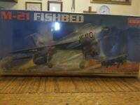 MIG-21 FISHBED,1/72 SCALE